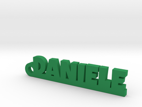 DANIELE Keychain Lucky in Green Processed Versatile Plastic