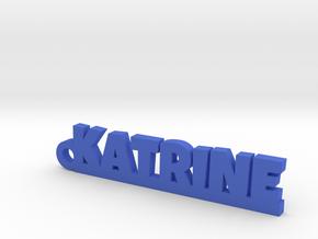 KATRINE Keychain Lucky in Blue Processed Versatile Plastic