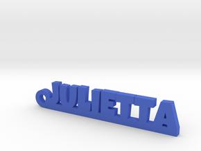 JULIETTA Keychain Lucky in Blue Processed Versatile Plastic