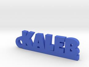 KALEB Keychain Lucky in Blue Processed Versatile Plastic