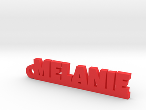 MELANIE Keychain Lucky in Red Processed Versatile Plastic