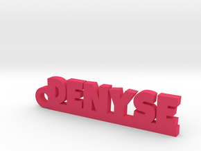 DENYSE Keychain Lucky in Pink Processed Versatile Plastic
