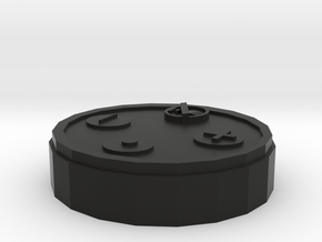 Amazon Echo Dot Model in Black Natural Versatile Plastic