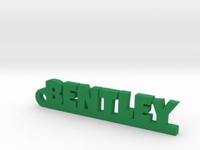 BENTLEY Keychain Lucky in Green Processed Versatile Plastic