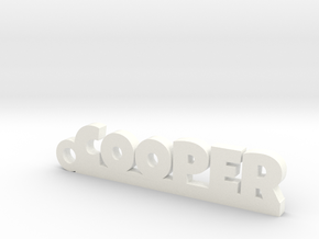 COOPER Keychain Lucky in 14k Gold Plated Brass