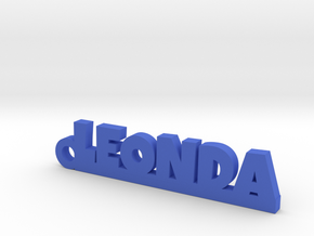 LEONDA Keychain Lucky in Blue Processed Versatile Plastic