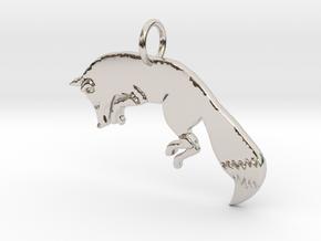 The fox in Platinum