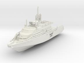 1/144 USN MKVI Patrol Boat in White Natural Versatile Plastic