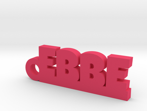 EBBE Keychain Lucky in Pink Processed Versatile Plastic