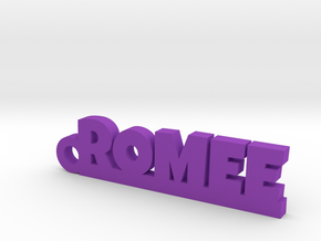ROMEE Keychain Lucky in Purple Processed Versatile Plastic
