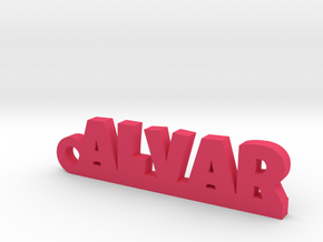 ALVAR Keychain Lucky in Pink Processed Versatile Plastic