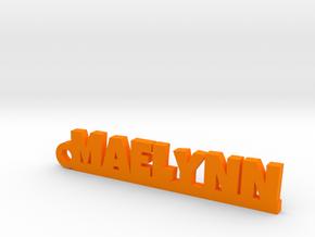 MAELYNN Keychain Lucky in Orange Strong & Flexible Polished