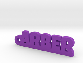 ARBER Keychain Lucky in Purple Processed Versatile Plastic
