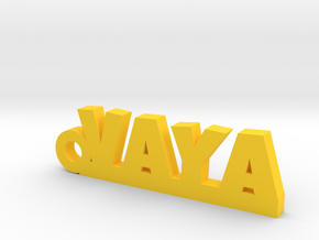 VAYA Keychain Lucky in Yellow Processed Versatile Plastic