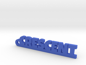 CRESCENT Keychain Lucky in Blue Processed Versatile Plastic