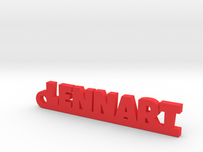LENNART Keychain Lucky in Red Processed Versatile Plastic