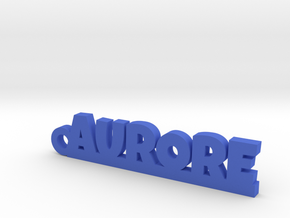 AURORE Keychain Lucky in Blue Strong & Flexible Polished