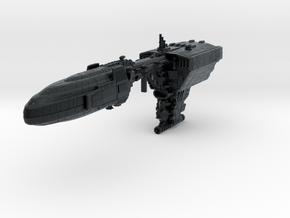 Quason-C Escort Cruiser (armada) in Black Hi-Def Acrylate