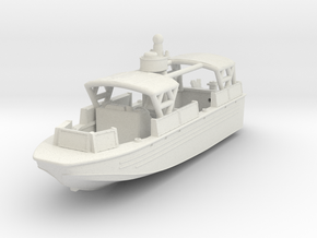1/144 USN Riverine Assault Boat  (With Canopy) - C in White Natural Versatile Plastic