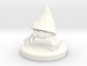 Hermit Wizard in White Strong & Flexible Polished