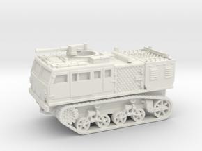 M4 tractor (USA) 1/87 in White Natural Versatile Plastic