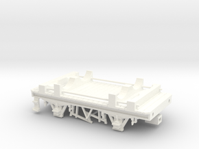 GWR Cordon Part 7 Chassis in White Strong & Flexible Polished