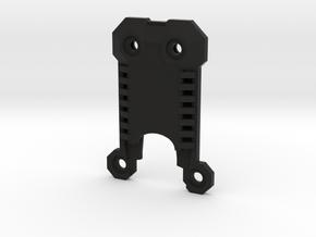 Saber Belt Clip Part 1 of 2 - Everyday Belt Carry in Black Natural Versatile Plastic