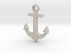 Anchor in Natural Sandstone