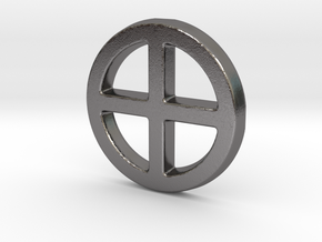 Crossed Circe in Polished Nickel Steel