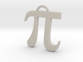 Pi in Natural Sandstone