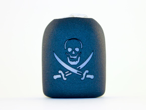 Pirate - Omnipod Pod Cover in Black Natural Versatile Plastic