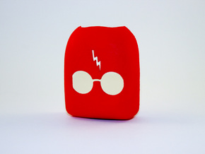Omnipod Pod Cover - Harry Podder in Red Strong & Flexible Polished
