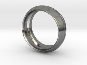 Modern+Fantom in Fine Detail Polished Silver: 6 / 51.5