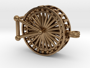 Ferris Wheel (small) in Natural Brass