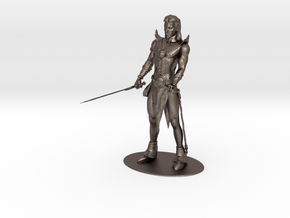 Elric of Melniboné Miniature in Polished Bronzed Silver Steel: 1:18