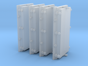 1/48 USN 3 inch 50 Gun Ammo Lockers Doors  in Frosted Ultra Detail