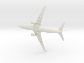 1/350 P-8A Poseidon (Gear Down) in White Natural Versatile Plastic