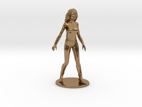 Princess Ariel Miniature in Natural Brass: 1:60.96