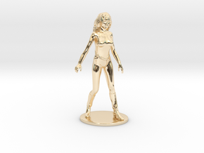 Princess Ariel Miniature in 14K Yellow Gold: 1:60.96