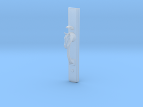 Horse Head Handle 22cm in Smooth Fine Detail Plastic