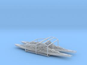 KM BB [Bundle] Bismarck + Tirpitz in Smooth Fine Detail Plastic: 1:2400