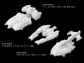 (Armada) Transports Set VII in Smooth Fine Detail Plastic