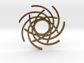 Seven Lines I - Gitinbel in Natural Bronze