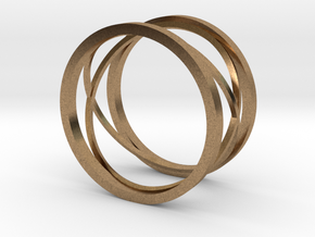 New style ring in Natural Brass: 8 / 56.75