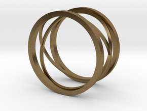 New style ring in Natural Bronze: 8 / 56.75