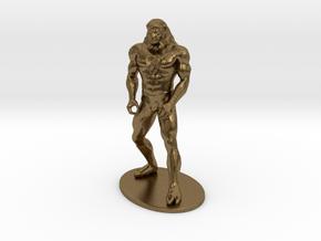 Ookla the Mok Miniature in Natural Bronze: 1:55