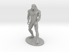 Ookla the Mok Miniature in Raw Aluminum: 1:55