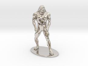 Ookla the Mok Miniature in Platinum: 1:60.96