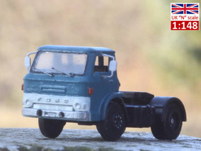 Ford D series tractor truck UK N scale in Frosted Extreme Detail