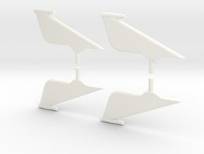1.9 Indicateur D'incidence RAFALE in White Processed Versatile Plastic